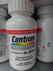 Centrum Advance Multi Vitamin 200 Count | Fairdinks