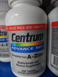 Centrum Advance 50 + Multi Vitamin 200 Count | Fairdinks