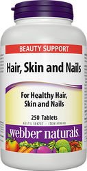 Webber Naturals Hair, Skin, Nails Capsules 250CT | Fairdinks