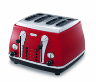 Delonghi CTO4003 Icona Classic 4 Slice Toaster - 1 | Fairdinks