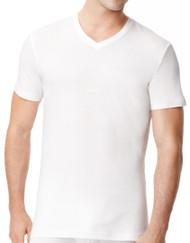 Tommy Hilfiger 4 Pack V Neck White Tee US Sizes: S - XL - 1 | Fairdinks