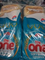 Tip Top The One White Sandwich 2 x 700G | Fairdinks
