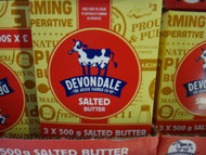 Devondale Salted Butter 3x500G | Fairdinks