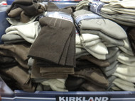 Kirkland Signature Mens Dress Socks 4PK One Size | Fairdinks