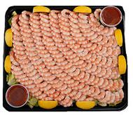 Prawn Platter With Cocktail Sauce 2KG