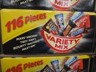 Mars Variety Mix Box 116PCS 1.7KG | Fairdinks