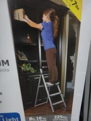 Rubbermaid Aluminum 3 Step Step Stool - 1 | Fairdinks