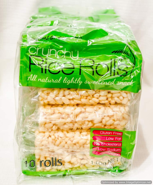 Oriental Fields Crunchy Rice Rolls 8 x 110G | Fairdinks