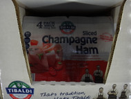 Tibaldi Sliced Champagne Ham 4 x 125G | Fairdinks