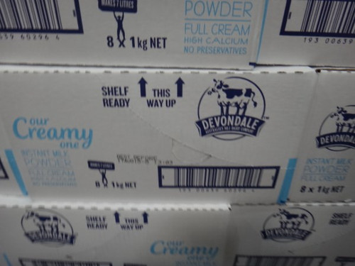 Devondale Full Cream Milk Powder 1KG   Fairdinks
