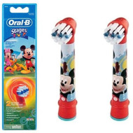Oral B Stages Power Kids Toothbrush Replacement Refills 6 Pack - Mickey & Minnie | Fairdinks