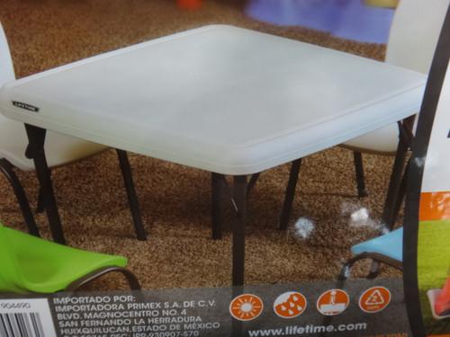 Lifetime Kids Table Size: 94cm x 94cm - 1 | Fairdinks
