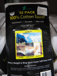 Terry Towel Cotton 52 Pack | Fairdinks