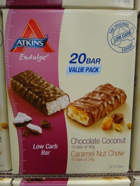 Atkins Endulge Low Carb Variety Value PK 20 Bars 740G | Fairdinks