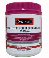 Swisse High Strength Cranberry 180 Count | Fairdinks