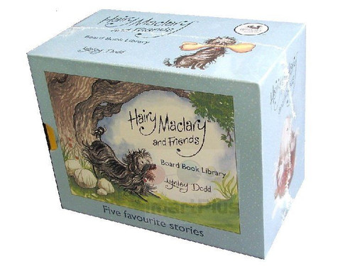 Hairy Maclary & Friends - 5 Board Book Library by Lynley Dodd - 1 | Fairdinks