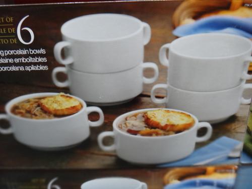 Porcelain Soup Bowl Set 6 Piece | Fairdinks
