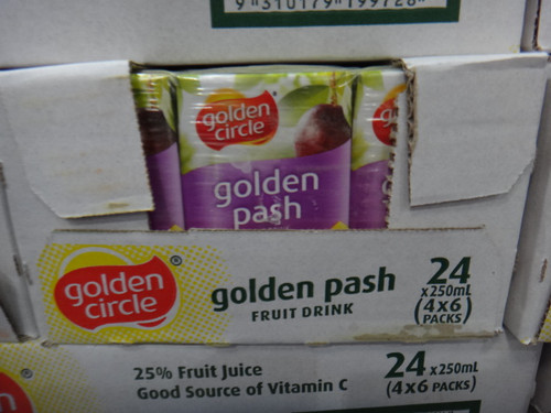 Golden Circle Golden Pash Drink 24x 250ML | Fairdinks