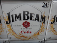 Jim Beam White Label & Cola 24 x 375ML Cans | Fairdinks