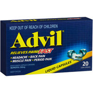 Advil Liquid Capsules 20 Count | Fairdinks