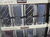 Kirkland Signature Italian Made Tie 100% Silk | Fairdinks