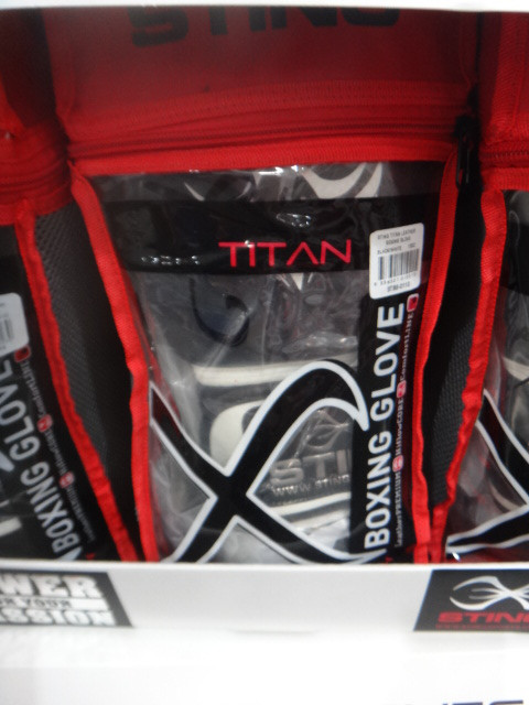 Sting Titan Leather Boxing Gloves | Fairdinks
