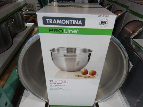Tramontina Pro Line Mixing Bowl 12.3 Litre | Fairdinks
