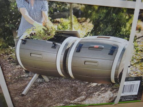 Lifetime Dual Tumbling Composter 2x 189 Litre Drums - 1 | Fairdinks