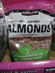 Kirkland Signature Dry Roasted Almonds 1.13KG - 1   Fairdinks