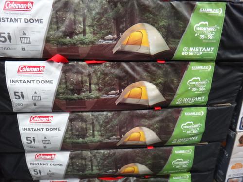 Coleman Instant Dome Tent 5 Person 3M x 2.1M - 1 | Fairdinks