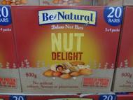 Be Natural Nut Delight Bar 20 x 40G | Fairdinks
