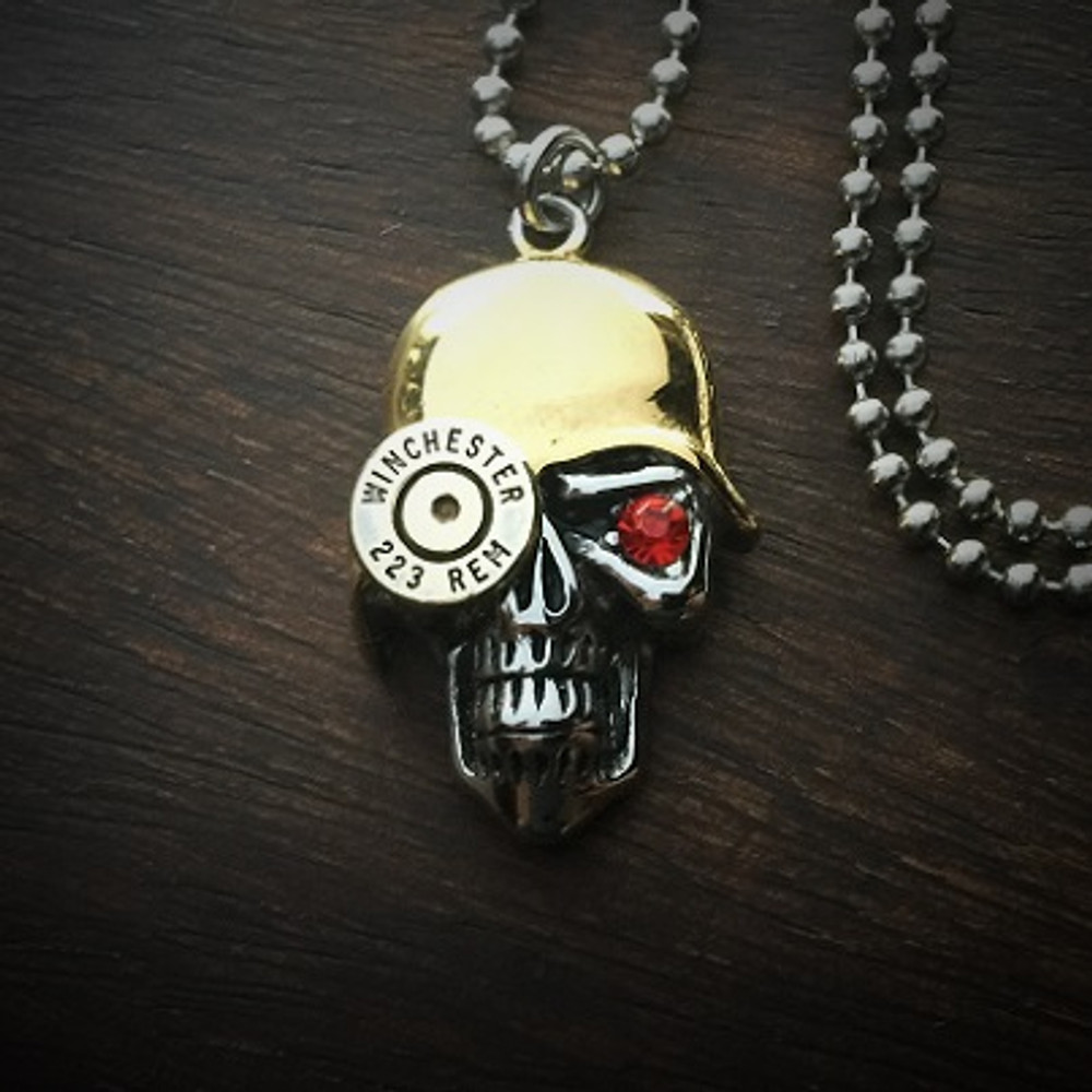 Soldier Bullet Necklace