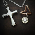 Cross My Heart Bullet Necklace 2