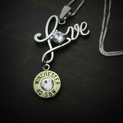 Love Bullet Necklace