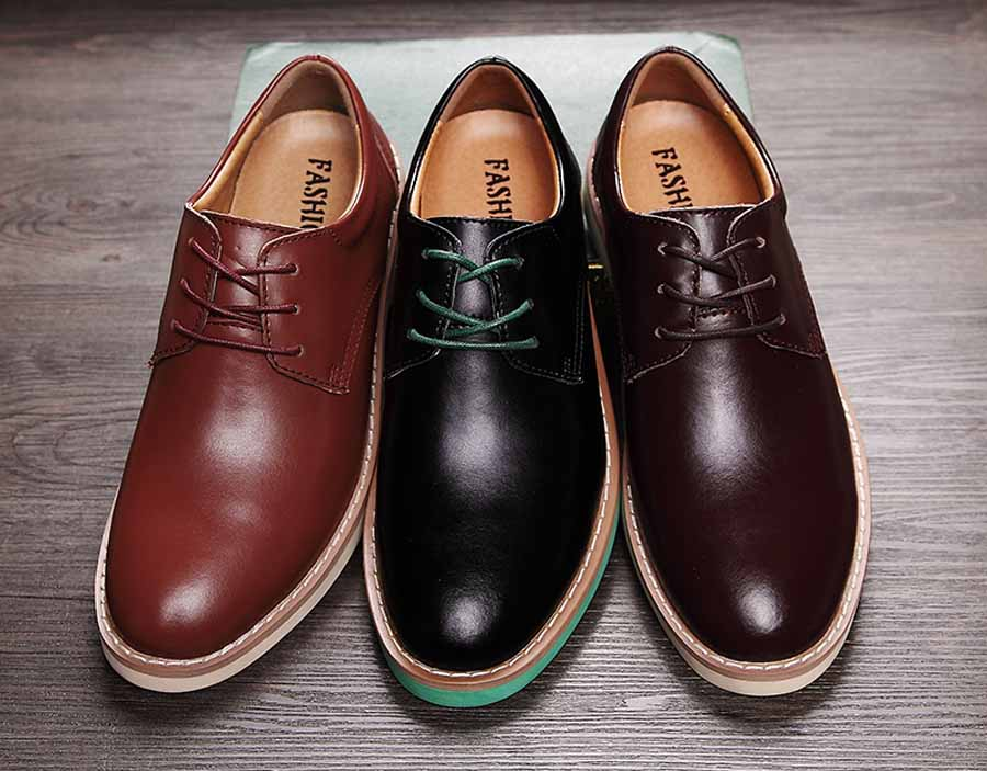Mens Oxfords-Shoes Slip On Loafers Fashion Dress Shoes