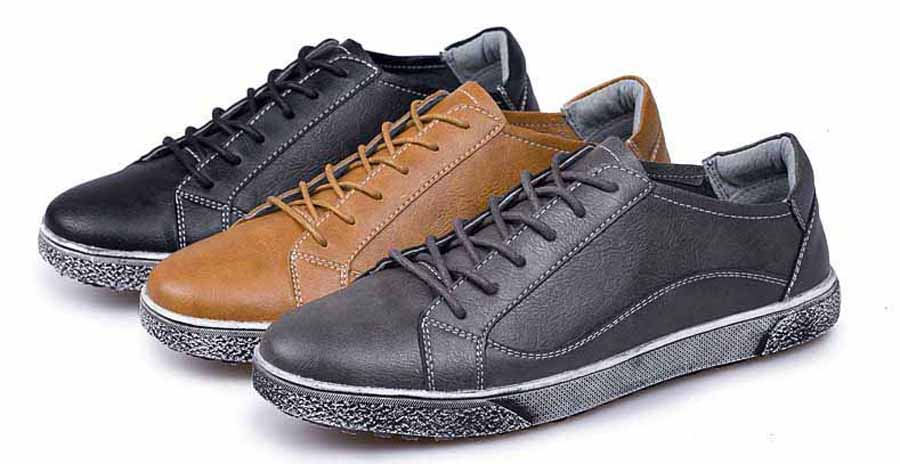 Men's classic retro lace up shoe sneakers