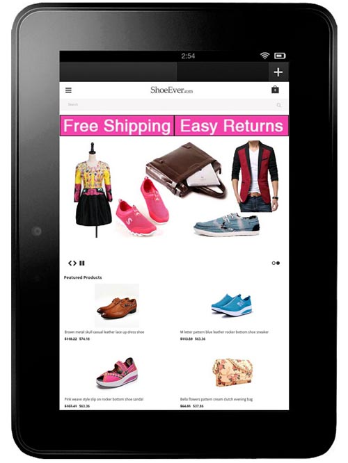 Buy-womens-mens-fashion-shoes-clothing-on-your-Kindle-Fire-HDX-7-ShoeEver.com