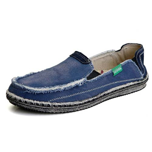 31317d58b76bed Blue casual denim style Converse slip on shoe loafer 01