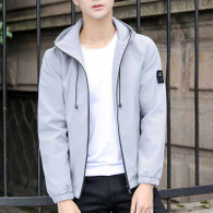 Grey label pattern long sleeve zip jacket hoodies 01
