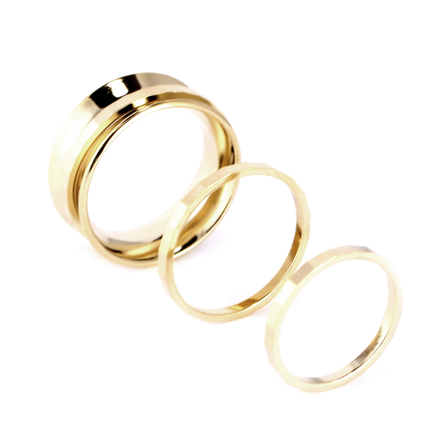 enamel rings category oliver three set saba jewellery of bonas triple multi