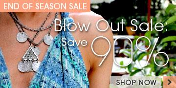 End of Season Sale - 90% Off