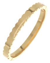 Vintage Inspired Hinged Bangle: Gold OR Silver