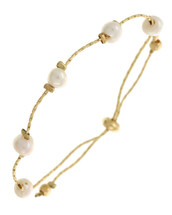 Dainty Pearl Adjustable Bracelet