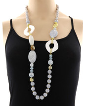 No Stone Unturned Long Necklace