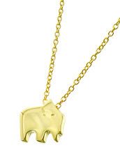 Elephant Necklace *Sterling Silver*