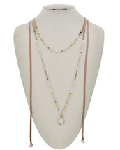 Bohemian West Semi Precious Necklace