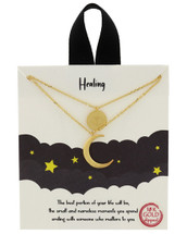 Gold Dipped Healing Necklace: Gold Or Silver