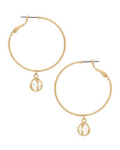 Kristin Hoop Earrings: Gold Or Silver