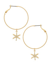 Stassi Hoop Earrings: Gold Or Silver