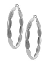 Little Ovals Hoops: Gold Or Silver